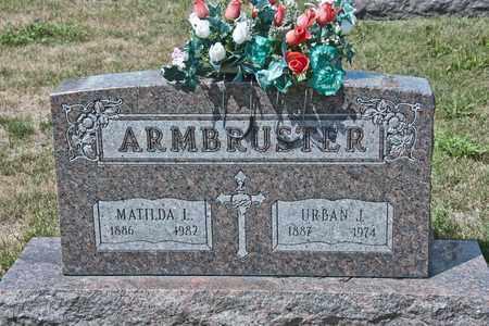 ARMBRUSTER, MATILDA L - Richland County, Ohio | MATILDA L ARMBRUSTER - Ohio Gravestone Photos