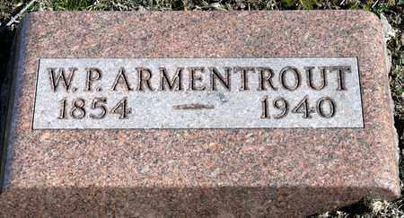 ARMENTROUT, W P - Richland County, Ohio | W P ARMENTROUT - Ohio Gravestone Photos
