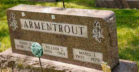 ARMENTROUT, WILLIAM S - Richland County, Ohio | WILLIAM S ARMENTROUT - Ohio Gravestone Photos
