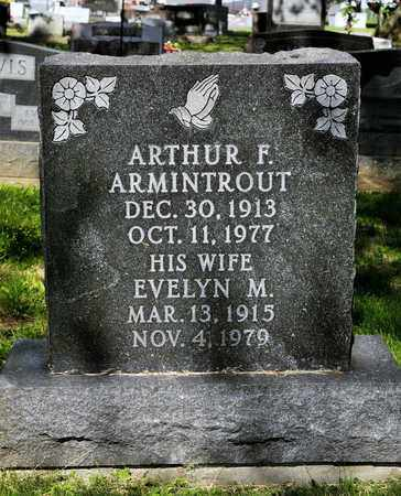 ARMINTROUT, EVELYN M - Richland County, Ohio | EVELYN M ARMINTROUT - Ohio Gravestone Photos