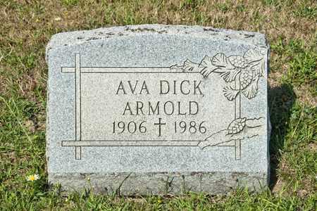 ARMOLD, AVA - Richland County, Ohio | AVA ARMOLD - Ohio Gravestone Photos