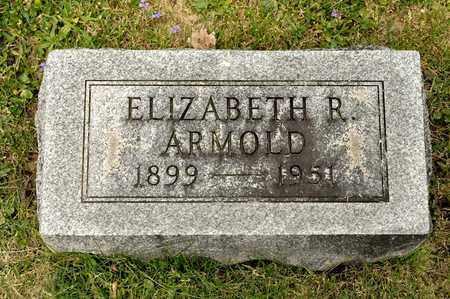 ARMOLD, ELIZABETH R - Richland County, Ohio | ELIZABETH R ARMOLD - Ohio Gravestone Photos
