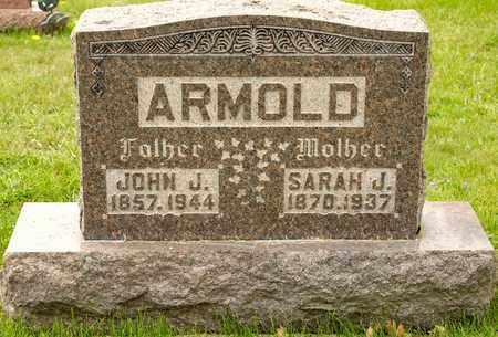 ARMOLD, SARAH J - Richland County, Ohio | SARAH J ARMOLD - Ohio Gravestone Photos