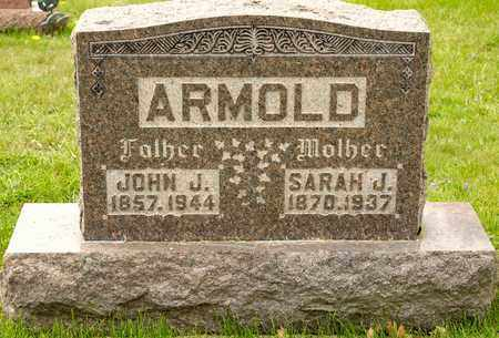 ARMOLD, JOHN J - Richland County, Ohio | JOHN J ARMOLD - Ohio Gravestone Photos