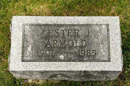 ARMOLD, LESTER J - Richland County, Ohio | LESTER J ARMOLD - Ohio Gravestone Photos