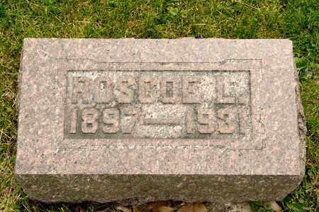 ARMOLD, ROSCOE L - Richland County, Ohio | ROSCOE L ARMOLD - Ohio Gravestone Photos