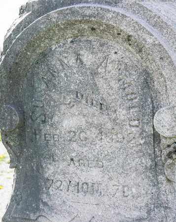 ARMOLD, SUSANNA - Richland County, Ohio | SUSANNA ARMOLD - Ohio Gravestone Photos