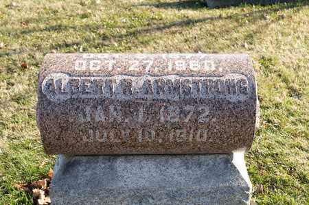 ARMSTRONG, ALBERT R - Richland County, Ohio | ALBERT R ARMSTRONG - Ohio Gravestone Photos