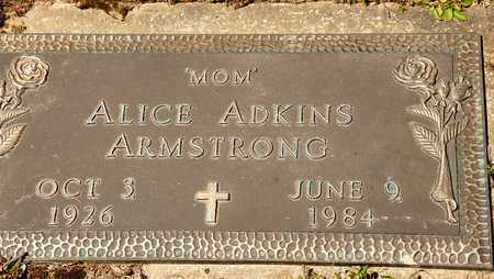 ARMSTRONG, ALICE - Richland County, Ohio | ALICE ARMSTRONG - Ohio Gravestone Photos