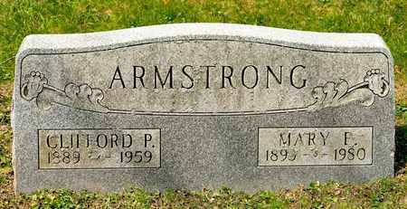 ARMSTRONG, CLIFFORD P - Richland County, Ohio | CLIFFORD P ARMSTRONG - Ohio Gravestone Photos
