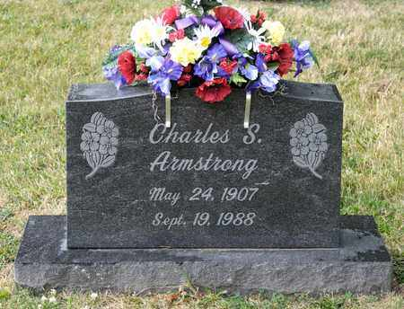 ARMSTRONG, CHARLES S - Richland County, Ohio | CHARLES S ARMSTRONG - Ohio Gravestone Photos