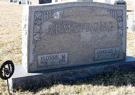 ARMSTRONG, FLOSSIE M - Richland County, Ohio | FLOSSIE M ARMSTRONG - Ohio Gravestone Photos