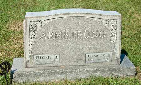 ARMSTRONG, CHARLES E - Richland County, Ohio | CHARLES E ARMSTRONG - Ohio Gravestone Photos
