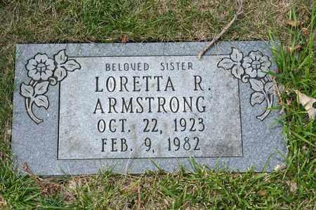 ARMSTRONG, LORETTA R - Richland County, Ohio | LORETTA R ARMSTRONG - Ohio Gravestone Photos