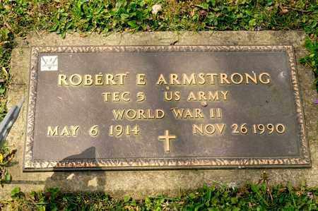 ARMSTRONG, ROBERT E - Richland County, Ohio | ROBERT E ARMSTRONG - Ohio Gravestone Photos