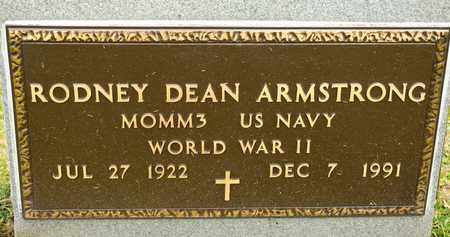 ARMSTRONG, RODNEY DEAN - Richland County, Ohio | RODNEY DEAN ARMSTRONG - Ohio Gravestone Photos