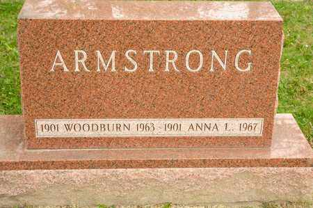 ARMSTRONG, WOODBURN - Richland County, Ohio | WOODBURN ARMSTRONG - Ohio Gravestone Photos