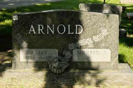 ARNOLD, A JAY - Richland County, Ohio | A JAY ARNOLD - Ohio Gravestone Photos