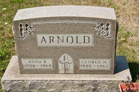 ARNOLD, GEORGE H - Richland County, Ohio | GEORGE H ARNOLD - Ohio Gravestone Photos