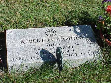 ARNOLD, ALBERT M. - Richland County, Ohio | ALBERT M. ARNOLD - Ohio Gravestone Photos