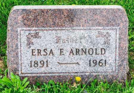 ARNOLD, ERSA F - Richland County, Ohio | ERSA F ARNOLD - Ohio Gravestone Photos