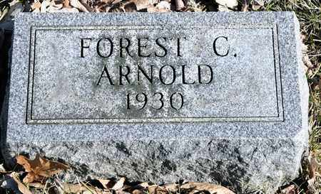 ARNOLD, FOREST C - Richland County, Ohio | FOREST C ARNOLD - Ohio Gravestone Photos