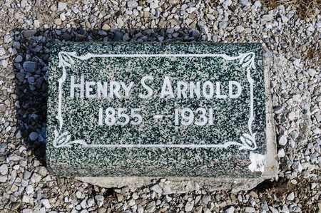 ARNOLD, HENRY S - Richland County, Ohio | HENRY S ARNOLD - Ohio Gravestone Photos