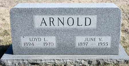 ARNOLD, JUNE V - Richland County, Ohio | JUNE V ARNOLD - Ohio Gravestone Photos