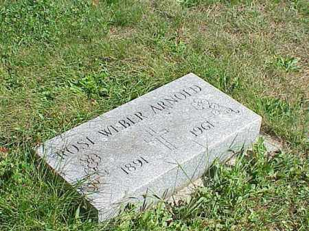 ARNOLD, ROSI WEBER - Richland County, Ohio | ROSI WEBER ARNOLD - Ohio Gravestone Photos