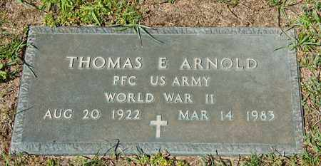 ARNOLD, THOMAS E - Richland County, Ohio | THOMAS E ARNOLD - Ohio Gravestone Photos