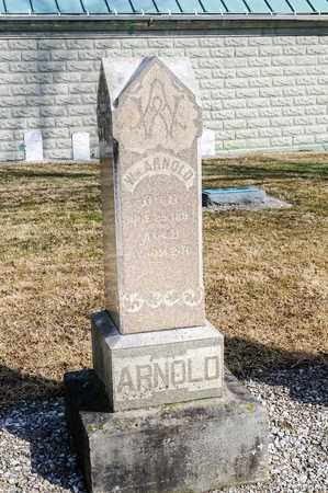 ARNOLD, WILLIAM - Richland County, Ohio | WILLIAM ARNOLD - Ohio Gravestone Photos