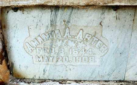 ARTER, AMANDA A - Richland County, Ohio | AMANDA A ARTER - Ohio Gravestone Photos