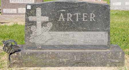 ARTER, FRED J - Richland County, Ohio | FRED J ARTER - Ohio Gravestone Photos