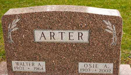 ARTER, WALTER A - Richland County, Ohio | WALTER A ARTER - Ohio Gravestone Photos