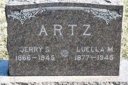 ARTZ, LUELLA M - Richland County, Ohio | LUELLA M ARTZ - Ohio Gravestone Photos
