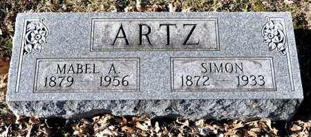 ARTZ, SIMON - Richland County, Ohio | SIMON ARTZ - Ohio Gravestone Photos