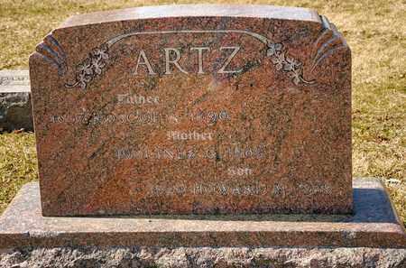 ARTZ, HOWARD M - Richland County, Ohio | HOWARD M ARTZ - Ohio Gravestone Photos