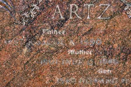 ARTZ, HOWARD M - Richland County, Ohio | HOWARD M ARTZ - Ohio Gravestone Photos
