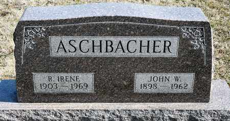 ASCHBACHER, JOHN W - Richland County, Ohio | JOHN W ASCHBACHER - Ohio Gravestone Photos