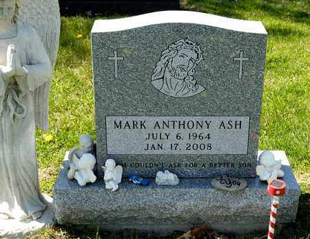 ASH, MARK ANTHONY - Richland County, Ohio | MARK ANTHONY ASH - Ohio Gravestone Photos