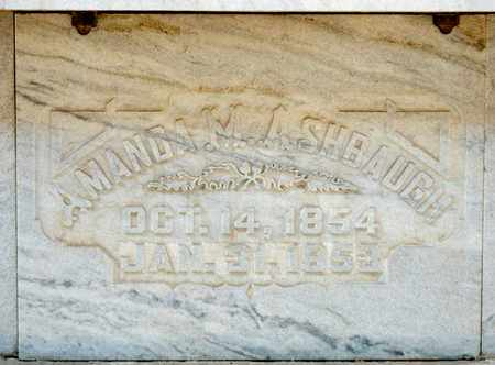 ASHBAUGH, AMANDA M - Richland County, Ohio | AMANDA M ASHBAUGH - Ohio Gravestone Photos