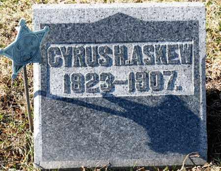 ASKEW, CYRUS H - Richland County, Ohio | CYRUS H ASKEW - Ohio Gravestone Photos