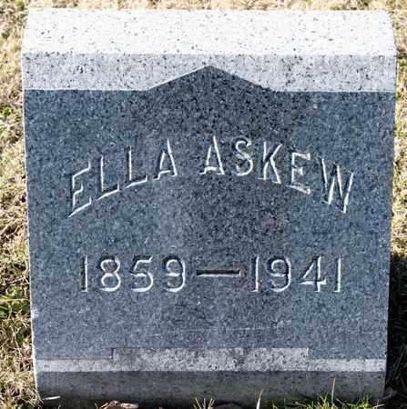 ASKEW, ELLA - Richland County, Ohio | ELLA ASKEW - Ohio Gravestone Photos