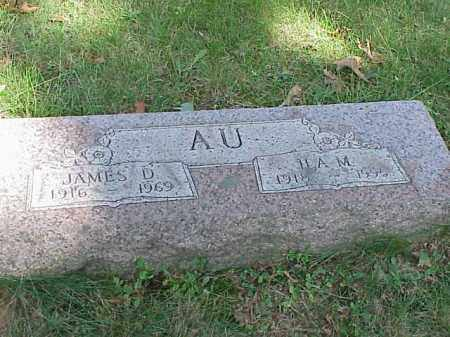 AU, JAMES D. - Richland County, Ohio | JAMES D. AU - Ohio Gravestone Photos