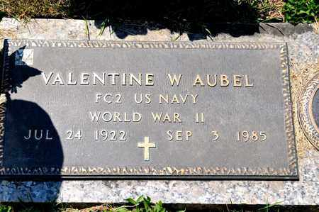 AUBEL, VALENTINE W - Richland County, Ohio | VALENTINE W AUBEL - Ohio Gravestone Photos
