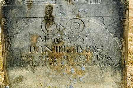 AYERS, DANIEL - Richland County, Ohio | DANIEL AYERS - Ohio Gravestone Photos