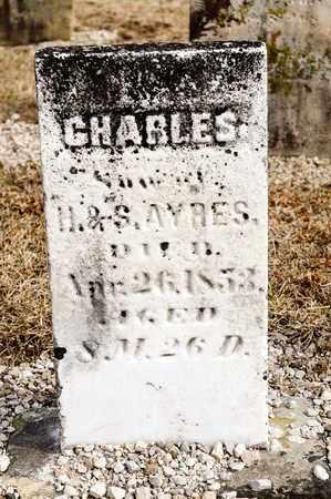 AYRES, CHARLES - Richland County, Ohio | CHARLES AYRES - Ohio Gravestone Photos