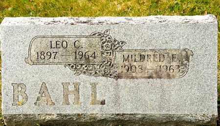 BAHL, LEO C - Richland County, Ohio | LEO C BAHL - Ohio Gravestone Photos
