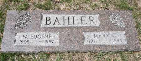 BAHLER, MARY C - Richland County, Ohio | MARY C BAHLER - Ohio Gravestone Photos