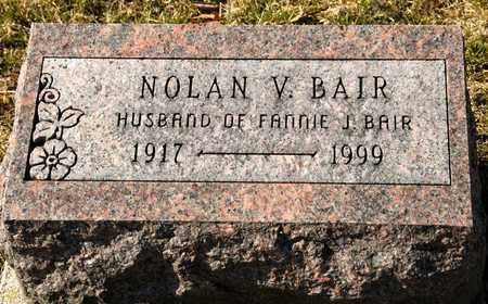 BAIR, NOLAN V - Richland County, Ohio | NOLAN V BAIR - Ohio Gravestone Photos